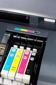 Printer ink — Stock Photo