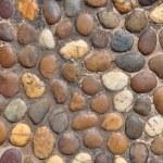 Small round shape stone wall — Stock Photo #4171180