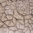 Clay dry soil - Stock Photo