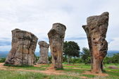 Historical stone henge in thailand — Stock Photo