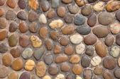 Small round shape stone wall — Stock Photo