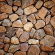 Round stone wall - Stock Photo