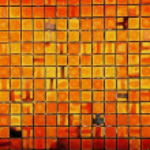 Square brick wall — Stock Photo #4181411