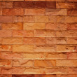 Sandstone wall background — Stockfoto