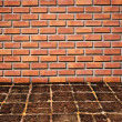 Brickwall and old stone floor pattern — Stock Photo #4181936