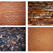 Stone brick wall background — Stock Photo #4183387