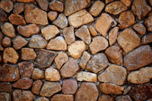 Round stone wall — Stock Photo