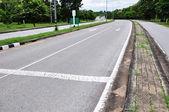 Seta na estrada — Fotografia Stock