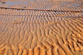 Sea sand texture pattern — Stock Photo