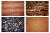 Stone brick wall background — Stock Photo