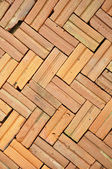 Brick floor pattern — Stock Photo