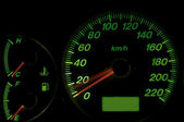 Speed meter — Stock Photo