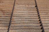 Rdza na wzór metalowe — Zdjęcie stockowe