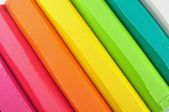 Colorful crayon stick — Stock Photo