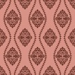 Abstract seamless retro pattern - Stok Vektör