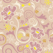 Abstract seamless floral pattern — Stock Vector #4130995