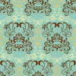 Abstract seamless retro pattern — Vettoriali Stock