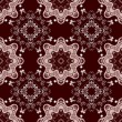 Abstract floral pattern — Vettoriali Stock