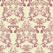 Abstract floral pattern — Imagen vectorial