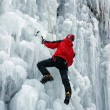 Ice climber — Stock Photo #4644683