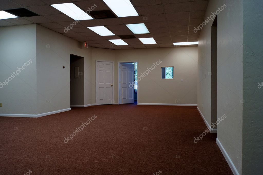 Empty office interior stock photo sorsillo 4339976 - Office interior photos ...