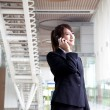 Bussinesswoman talking on the phone — Stock Photo