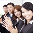 Business applauding - Stock Photo