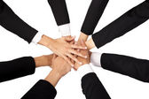 Teamwork and Cooperation — Stock Photo
