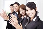 Geschäft applaudieren — Stockfoto