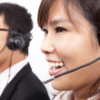 Business customer support — Stock Photo