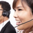 Stock Photo: Business customer support