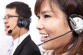 Business customer support — 图库照片