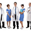 Asian medical team — Stock Photo