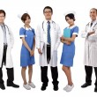 Stock Photo: Asian medical team