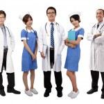 Asian medical team — Stock Photo