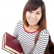 Smiling Asian university student — Stock Photo #4485291