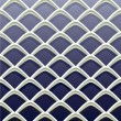 Expanded metallic mesh background - Vettoriali Stock