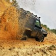 Off roading thrill - Stock Photo