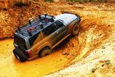 Off roading thrill — Stock Photo