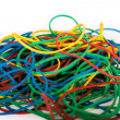 Pile of Multi-Colored Rubber Bands — Stock Photo #5134846