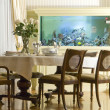 Stock Photo: Interior of dinning room