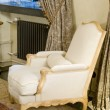Old Styled armchair - Stok fotoraf