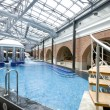 Swimming pools in a spa hotel in the attic — Stock Photo #5082608