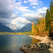 lake mcdonald — Stock Photo