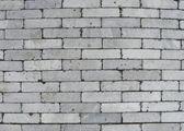 Gastas pedras planas de azulejos cinza — Fotografia Stock