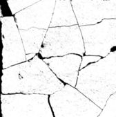 Alpha bump marble crack damage map for use in 3d software — Stock Photo