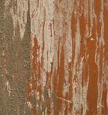 Conoció a cemento y estuco grunge de tierra al costado de una naranja de acero — Foto de Stock
