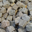 Large heap of stacked cobbles — Stock Photo #4048035