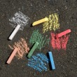 Stock Photo: Color crayon