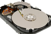 Hdd inside — Stock Photo
